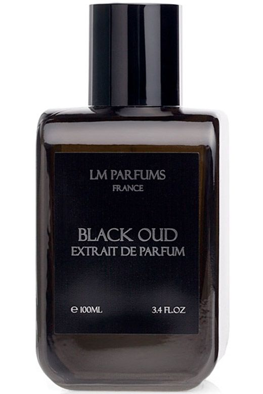 Black Oud LM Parfums cologne - a new fragrance for men. I'm wearing this today; it's interesting...