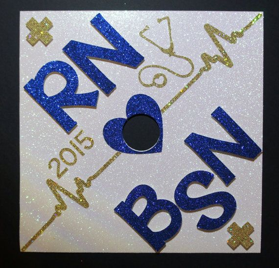Youve earned it - so why not show off your new super power!!?? This is a custom graduation cap topper. You can design it any way you like for your: -