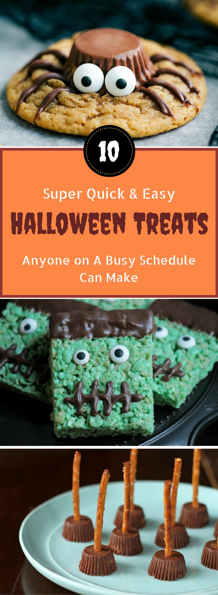 10 Quick and Easy Halloween Treats That'll Definitely Be A Hit
