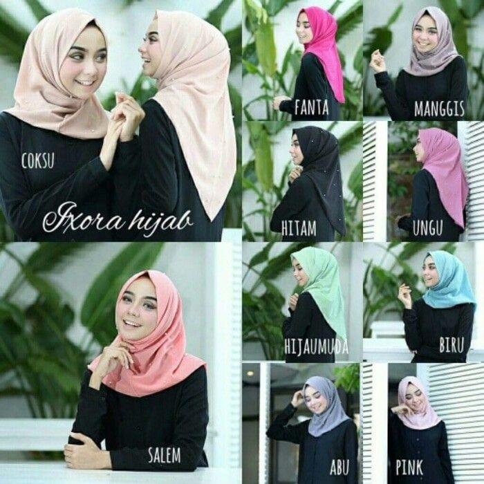 Jilbab instan / Hijab Instan Salwa pearly bubble pop, Hijab Instan dengan hiasan pearly atau mutiara di sekeliling hijab. Mutiara dijahit rapih sehingga jika terlepas dari jilbab tidak meninggalkan bekas pada kain hijab.