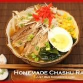 Homemade Chashu Ramen
