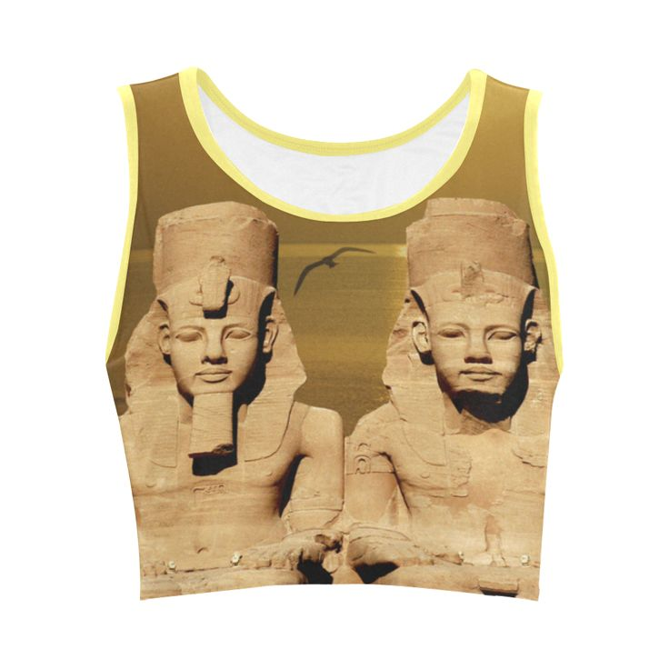 Temple of Sun Women's Sports Bra. FREE Returns. #artsadd #tops #egypt