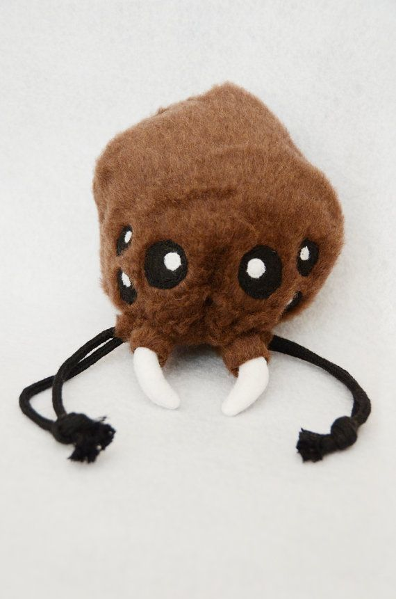 Monster Dice Bag Dungeons and Dragons by CraftedCreatureShop. EEEEEE, so CHIBI I WANT IT!!!