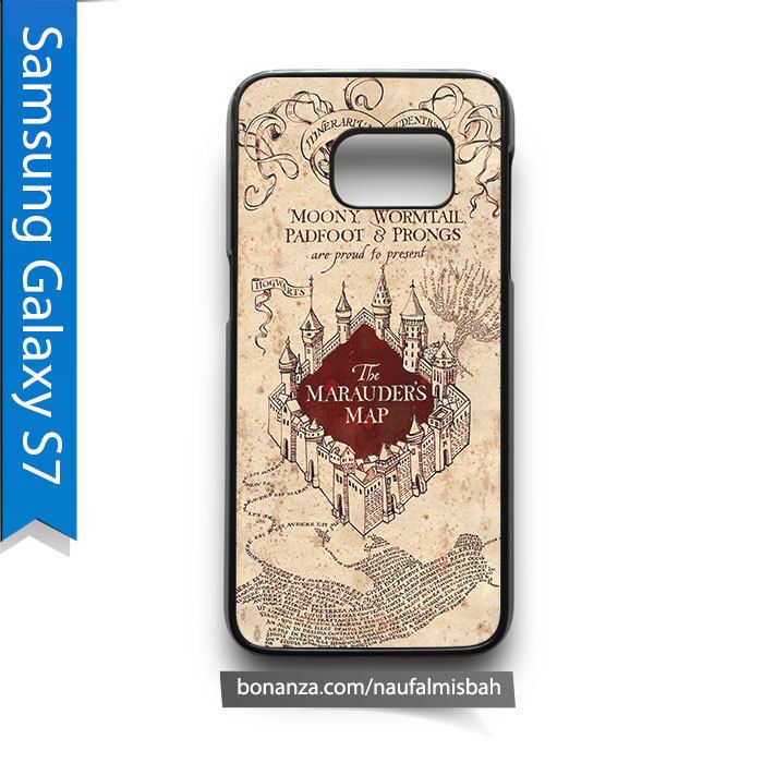 Harry Potter Marauder's Map Samsung Galaxy S7 Case Cover - Cases, Covers & Skins