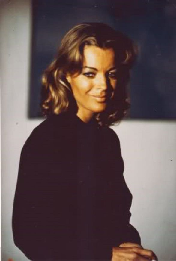 "Romy Schneider in ""Les innocents aux mains sales"""