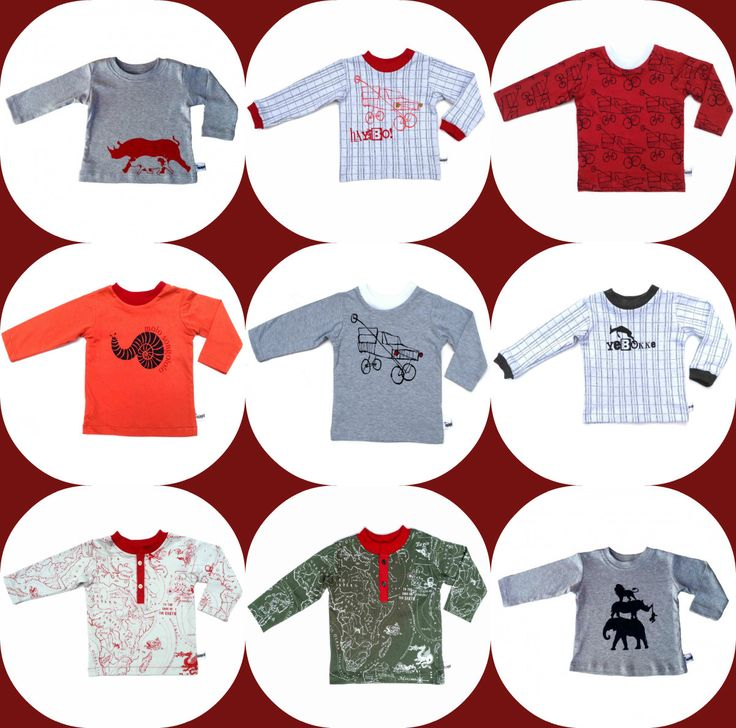 Nasty & Nice Kids Clothing Boys Long-sleeve Printed Tops www.nastyandnice.co,za