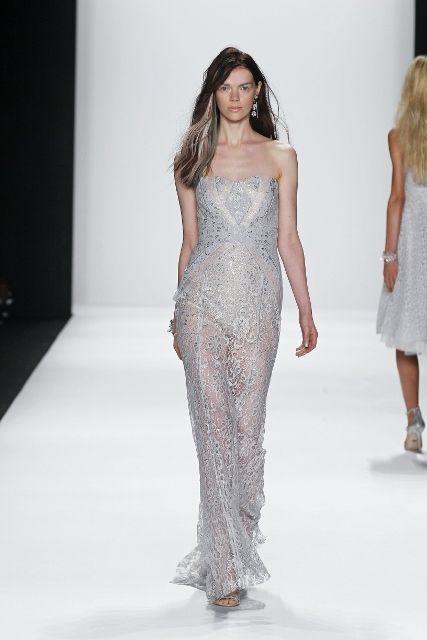 Badgley mishka gown runway