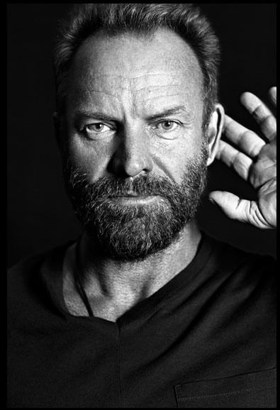 Sting (1951) Gordon Matthew Thomas Sumner CBE, better known by the stage name Sting, is an English musician, singer-songwriter, multi-instrumentalist, activist, actor and philanthropist. He is best known as the principal songwriter, lead singer, and bassist for the new wave rock band The Police and for his subsequent solo career.  Sting has varied his musical style, incorporating distinct elements of rock, jazz, reggae, classical, new-age, and worldbeat into his music.