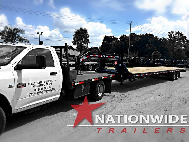 Check out this new 40' @PJTrailers for Builders Concrete Solutions.