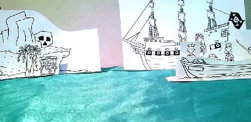 Paper City Printable Pirate Craft