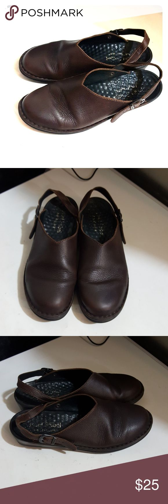 Josef Seibel air massage clogs size 12/42 Josef Seibel women's air massage clogs size 42 brown color they are in excellent condition and they are very comfortable and sexy. I'm selling them at an excellent price so get them today yeah! Josef Seibel Shoes Mules & Clogs
