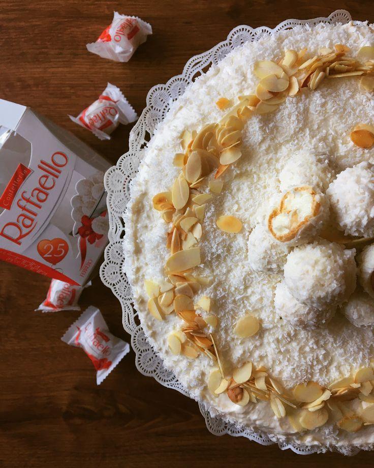 Raffaello cake 🍰