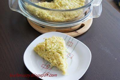 Kuchnia Izy: Zapiekanka z kaszy jaglanej z cukinią na diecie