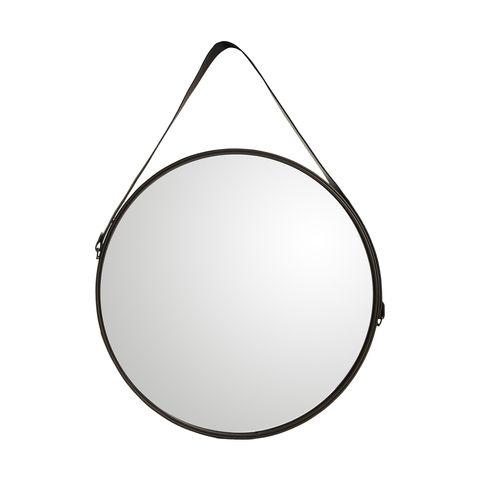 round Mirror natural