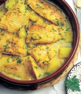 Ibiza cocina: BORRIDA DE RATJADA (Guisado de raya) receta
