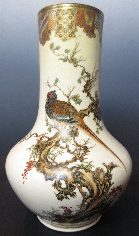 276 Best Satsuma Ware Images On Pinterest Japanese Porcelain