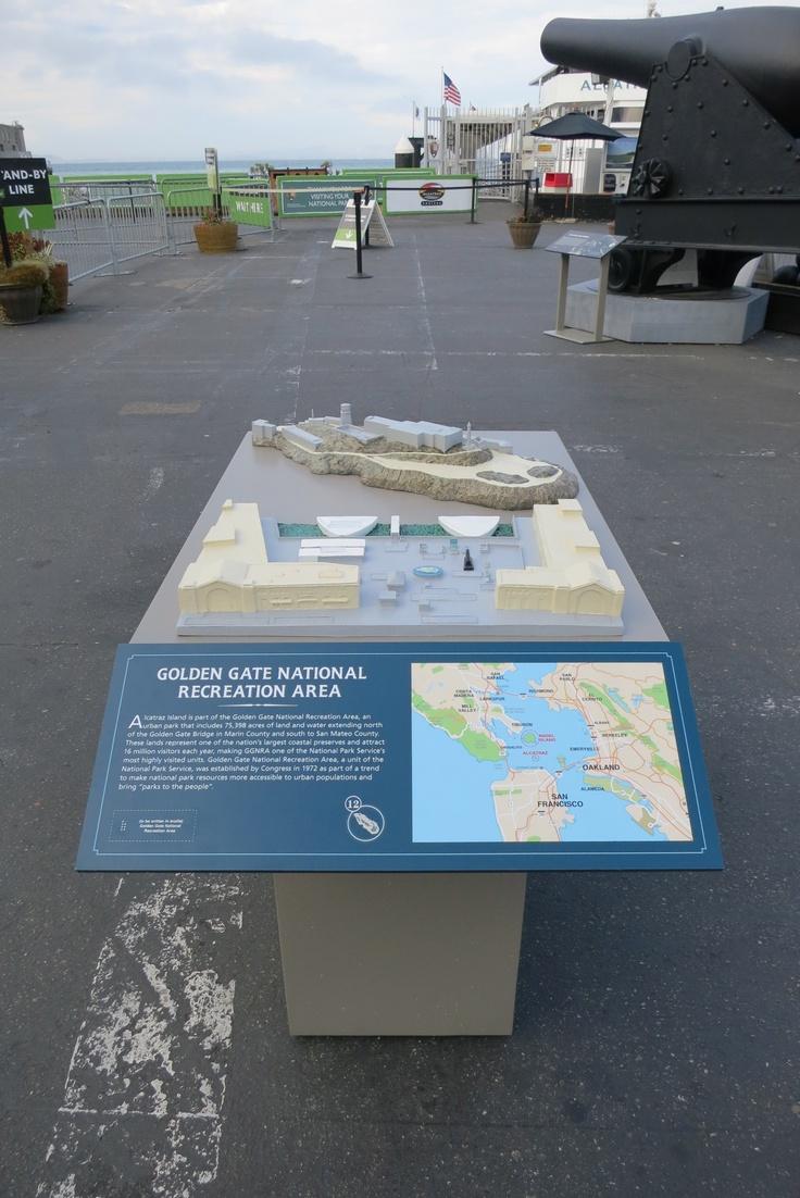 Alcatraz Landing and Alcatraz Island Tactile Models with ...