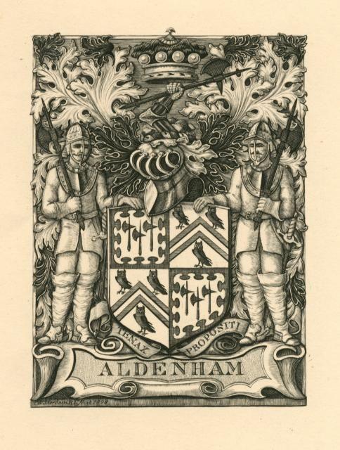 Aldenham by Charles William Sherborn (Aberystwyth University School of Art)