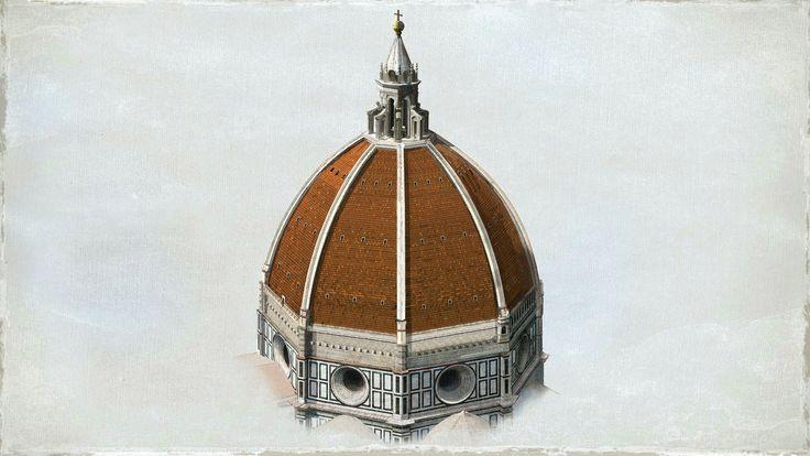 ¿Cómo construyó Brunelleschi la cúpula del Duomo de Florencia?  http://www.archdaily.mx/mx/626914/como-construyo-brunelleschi-la-cupula-del-duomo-de-florencia