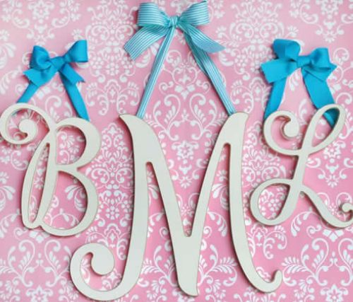 Etsy Baby Room Letters