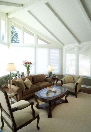 Whole House Remodel: Family Room - traditional - family room - other metro - RTA Studio