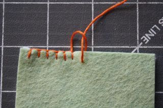 A wonderful tutorial for blanket stitch