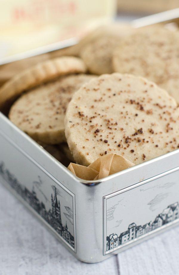 Brown Sugar Cinnamon Shortbread Cookies