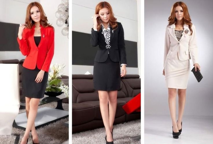 Professional... Fashionable Business Attire For Young Women