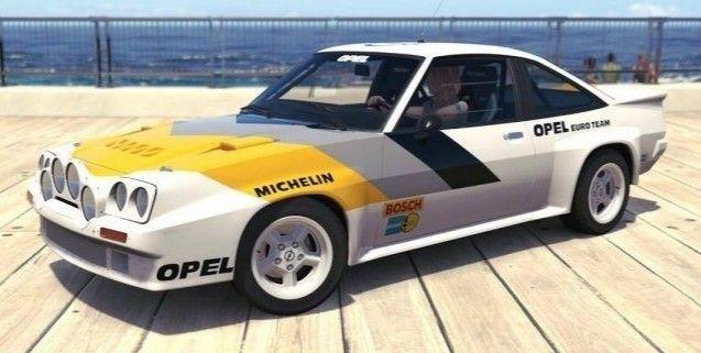 Pin On Opel Manta
