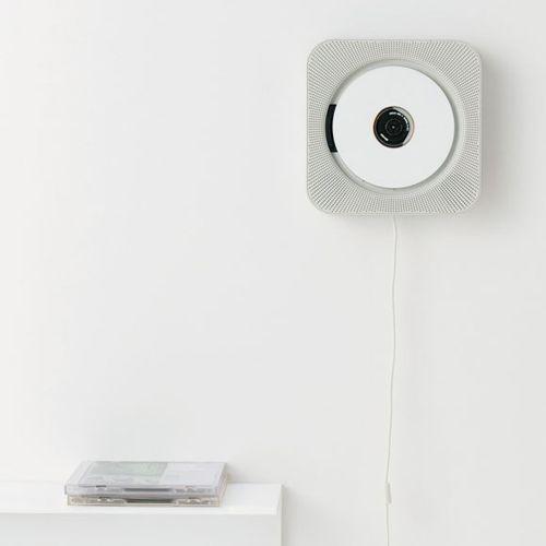 CD Player by NaotoFukasawa forMuji: Cd Player Radio, Inspiration, Product Design, Productdesign, Muji Cdplayer 011, Design Object, Mounted Cd, Muji Cd Player