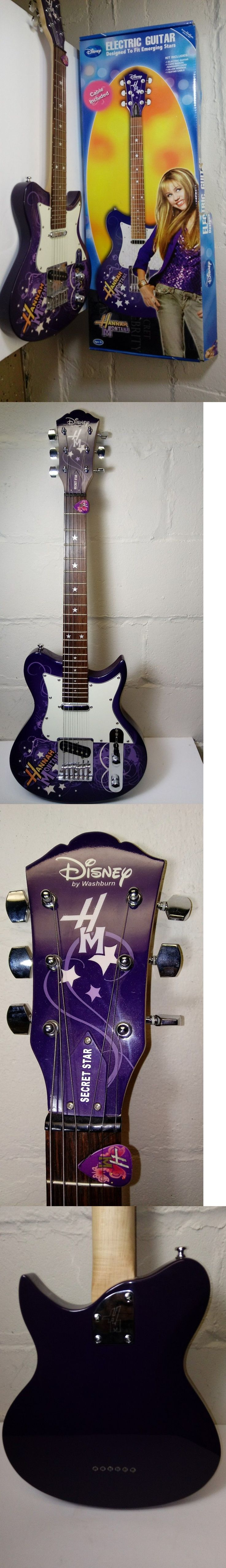 Hannah Montana 158763: Washburn Hannah Montana Electric Guitar Disney Hm Secret Star Pick Box 3 4 Sized -> BUY IT NOW ONLY: $99.95 on eBay!