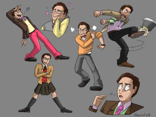 This Is Somewhat Old, But Here Are A Few Poses And