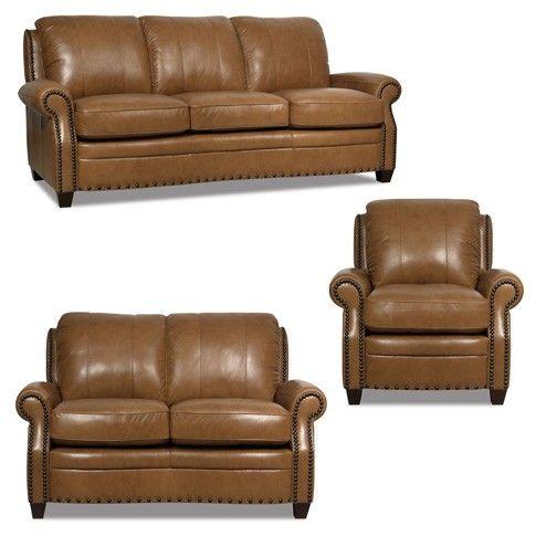 Luke Leather   Bennett 3 Piece Living Room Set   2552 SET SLC Part 97