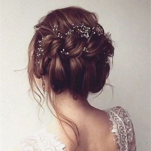A knot above the rest! Hairstyle idea to look beautiful for your wedding. #weddi…