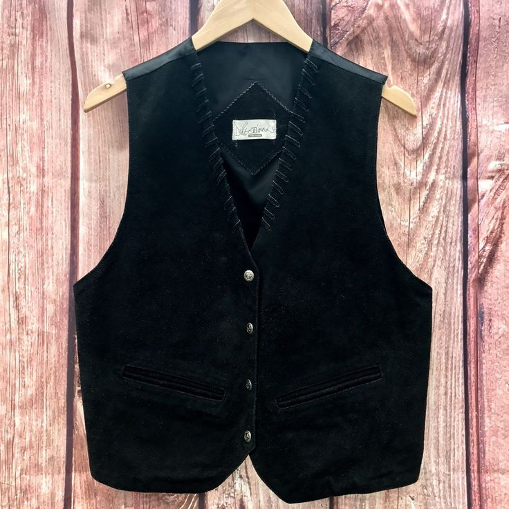 Woman's Waistcoat Pure Leather Directions plus Size 16 Cowgirl Dance Night Life