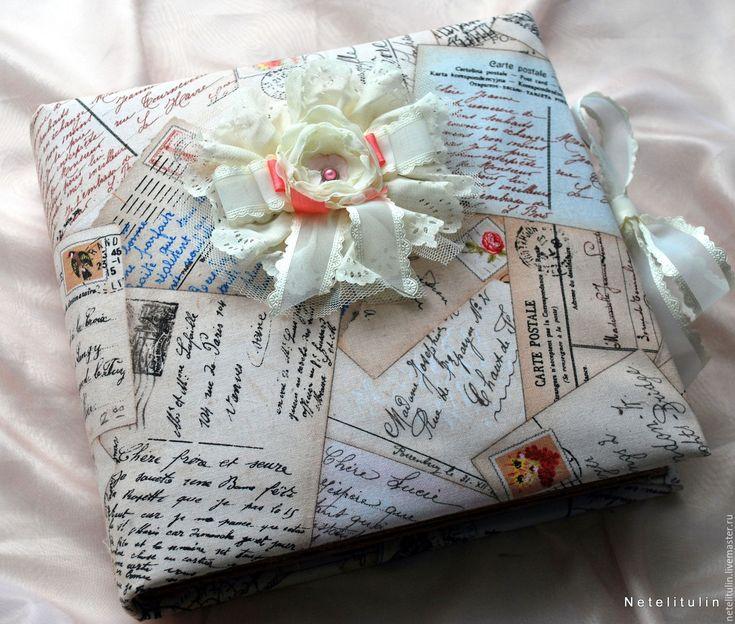 """Купить """"Романтическое путешествие по миру"""". - кремовый, фотоальбом ручной работы, 14 февраля, 8марта"""