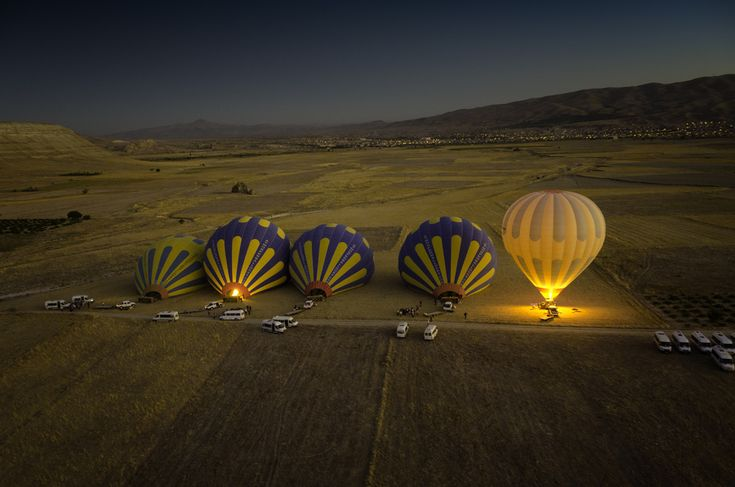 Balloon launch in Cappadocia by Michael Morris