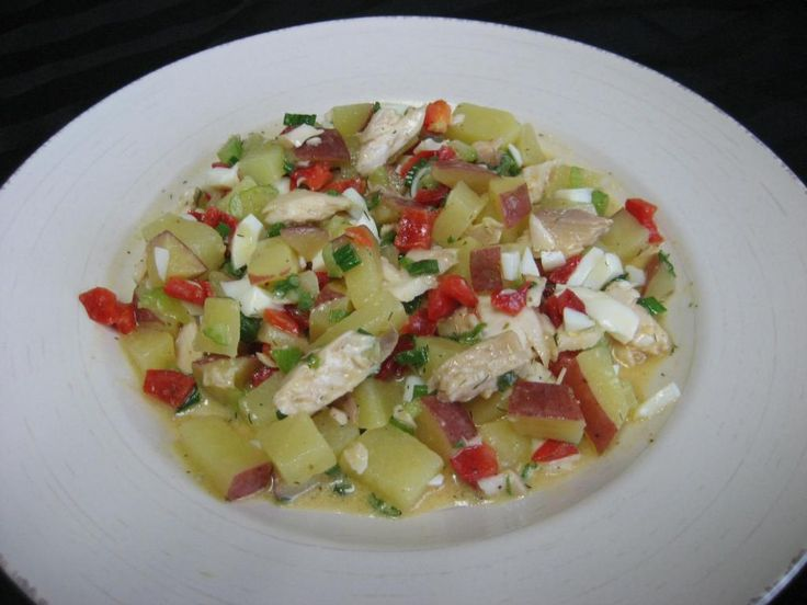 Developed by the Clever Cleaver Brothers (http://www.clevercleaver.com) for Morey's Fine Fish and Seafood, this potato salad uses Morey's Pineapple Mango Mahi Mahi. A blend of pineapple with a hint of mango brings the tropical tastes of the Caribbean to your salad. Enjoy this #SeafoodDish and more when you follow Morey's.