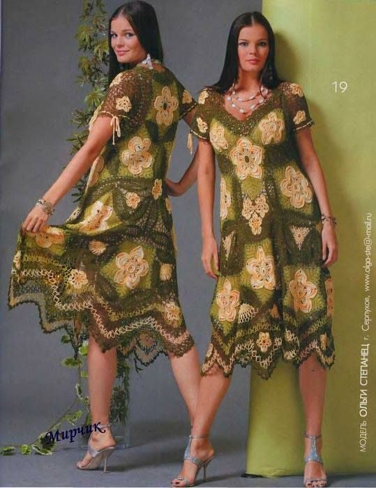Hermoso vestido a crochet | Tejidos a Crochet