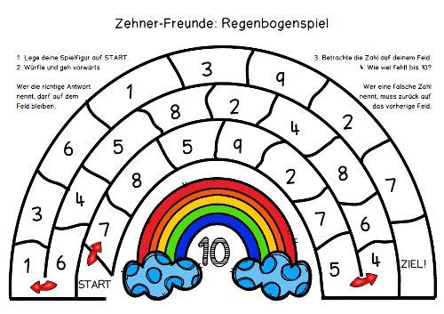Zehnerfreunde / Zahlenfamilien