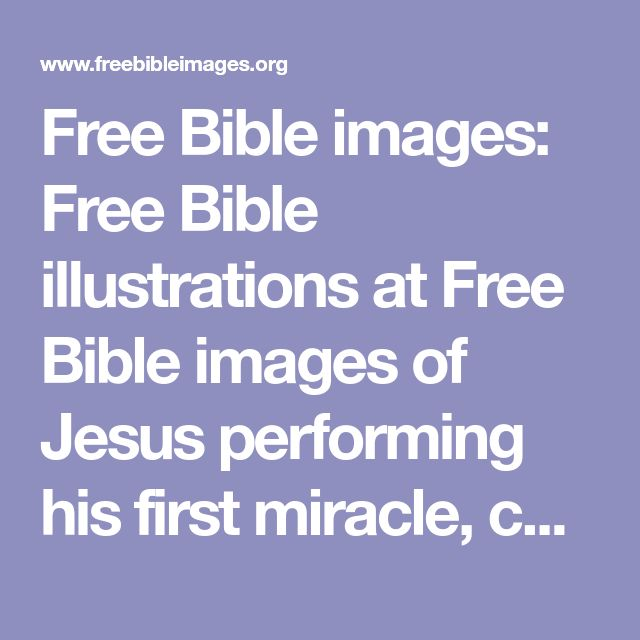 Free Bible images: Free Bible illustrations at Free Bible images of Jesus performing his first miracle, changing water to wine, at a wedding in Cana. (John 2:1-12)