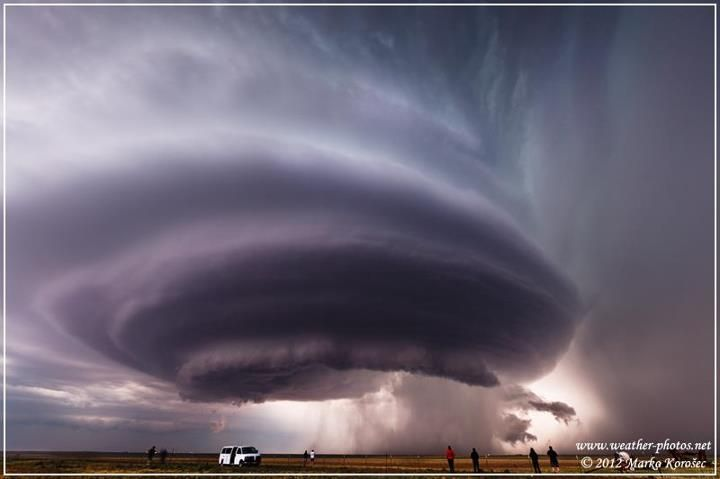 """Mothership Cloud"""" Supercell Tornado In Texas"""" story by Accu ..."""