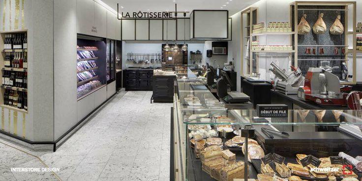 Interstore Design Bon Marche Retail Food Pinterest Design