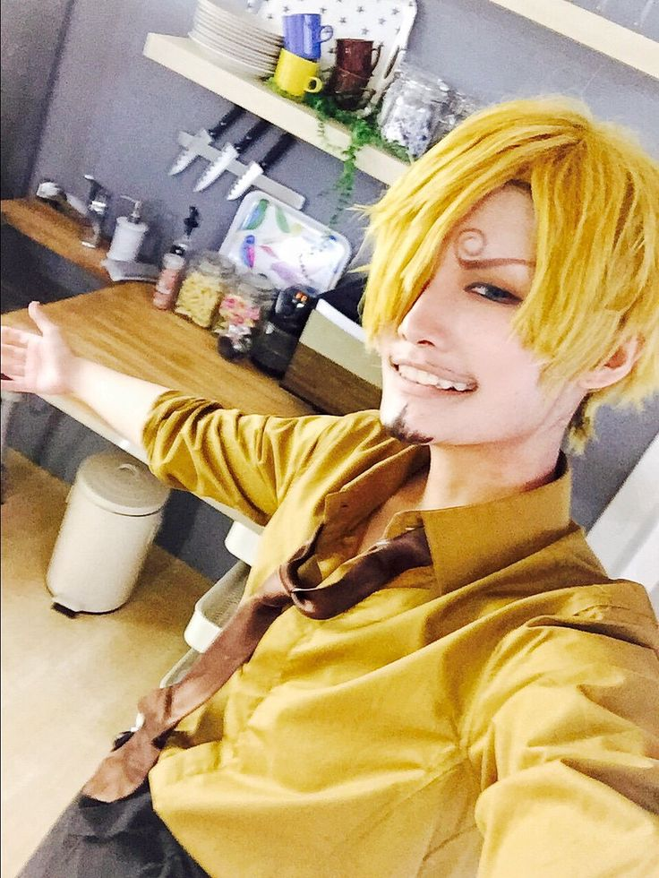 Sanji Vinsmoke One Piece Cosplay