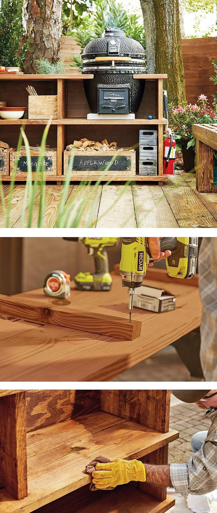 25 best ideas about bbq stand on pinterest garden bar. Black Bedroom Furniture Sets. Home Design Ideas