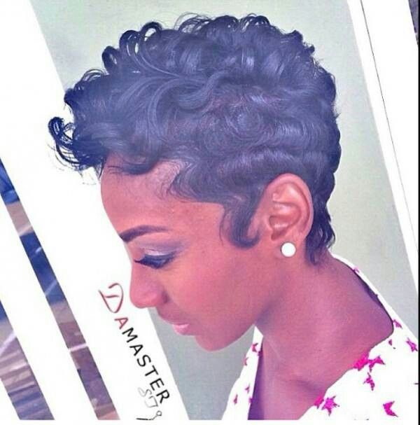 Fingerwaves and curls #theshortlife