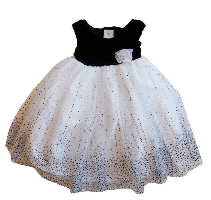 new MARMELLATA girls 3T BLACK & WHITE BALLERINA CHRISTMAS HOLIDAY PARTY DRESS #Marmellata #HolidayPageantWedding