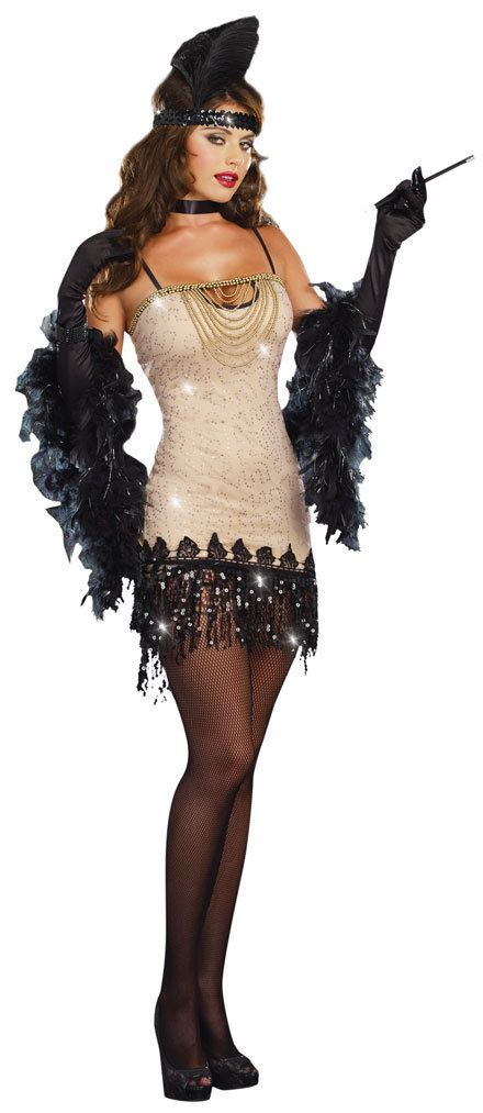 So hot!! Sexy Jazzy Jezebell 1920s Flapper dress