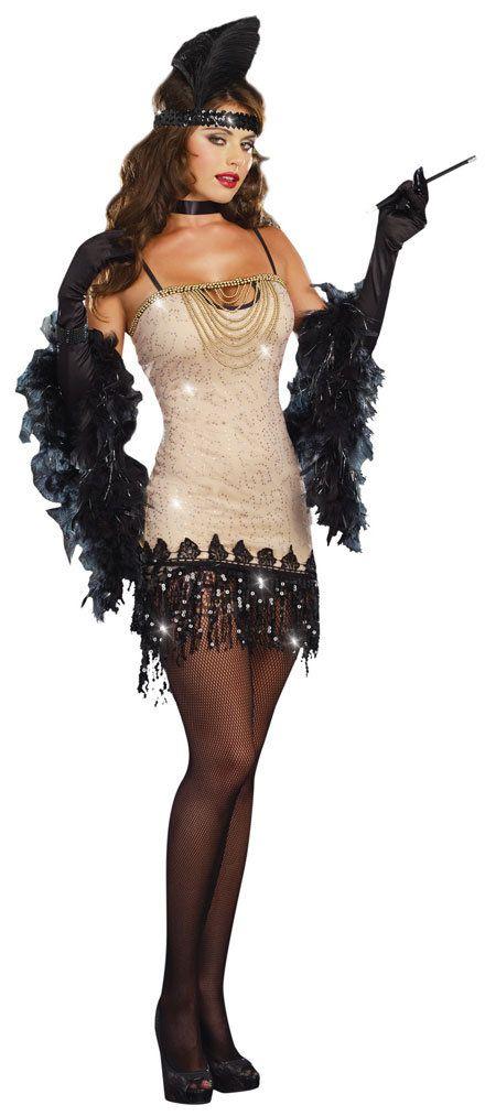 So hot!! Sexy Jazzy Jezebell 1920s Flapper dress