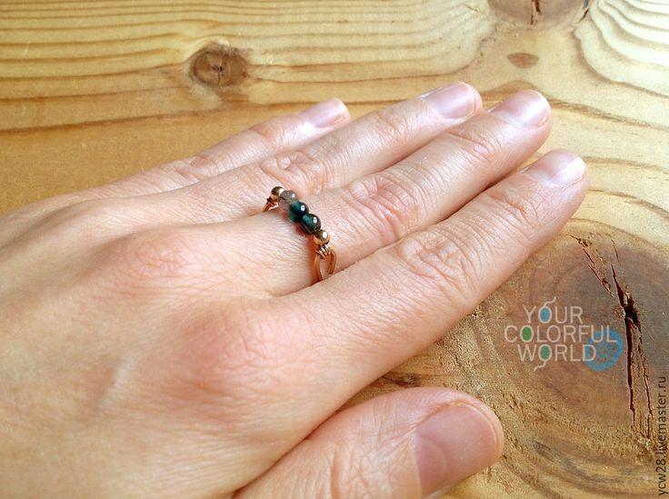 Купить Турмалиновое настроение / кольцо 2 // Tourmaline Mood / Ring 2